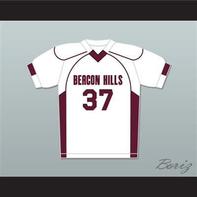 Jackson Whittemore 37 Beacon Hills Cyclones Lacrosse Jersey Teen Wolf