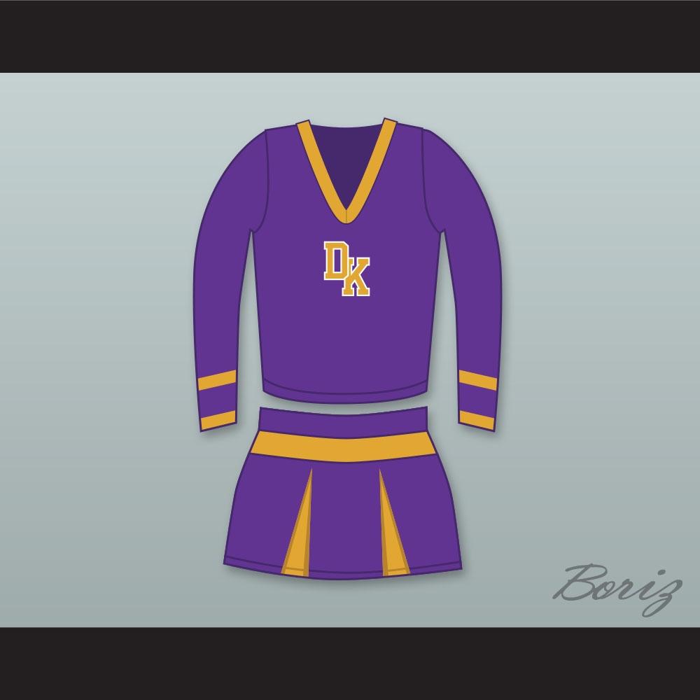 Jennifer Check Devilu0027s Kettle High School Long Sleeve Purple Cheerleader Uniform Jenniferu0027s Body & Jennifer Check Devilu0027s Kettle High School Long Sleeve Purple ...