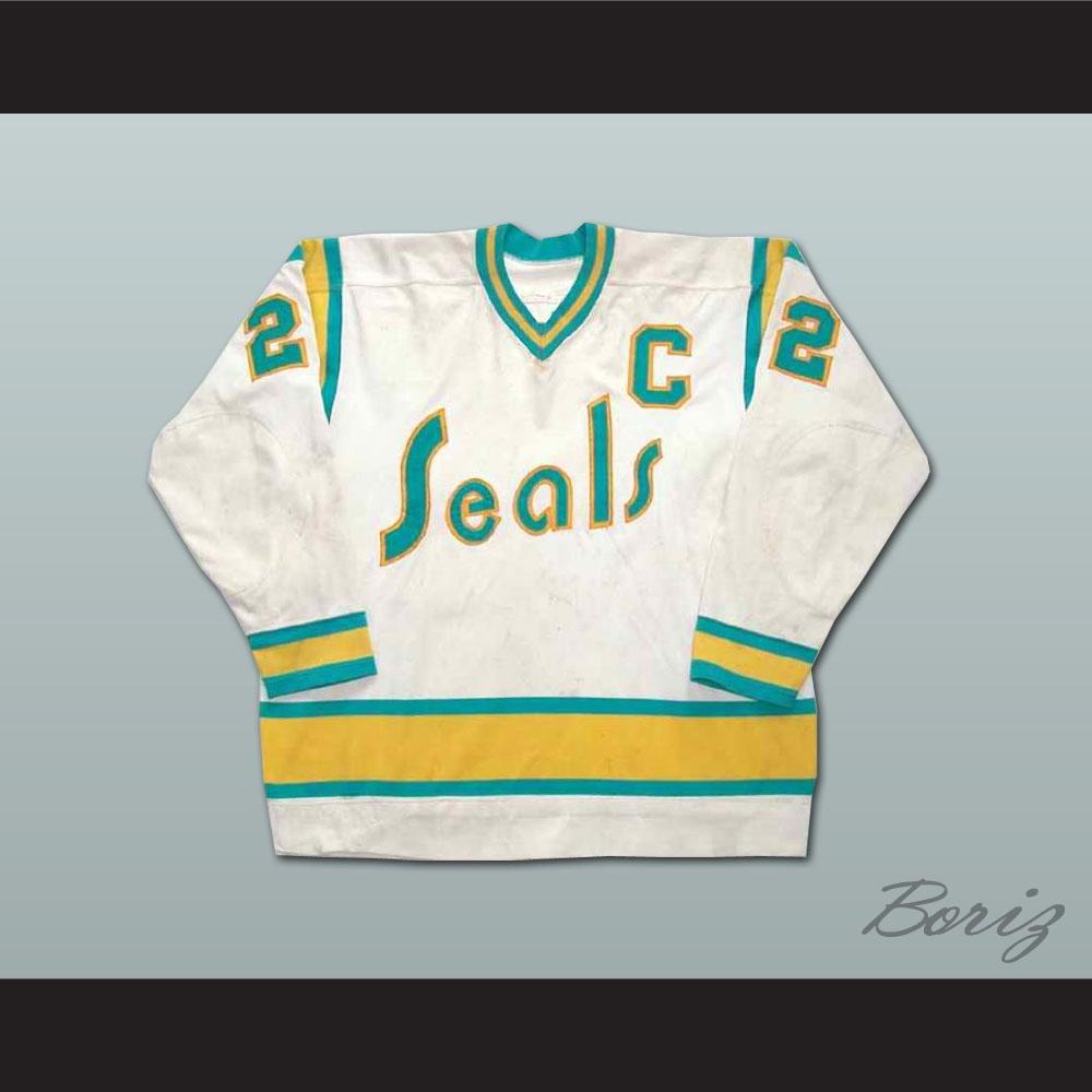 0cb55913b Joey Johnston California Golden Seals Hockey Jersey