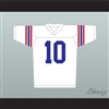 Johnny Depp Glen Lantz 10 Football Jersey