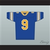 Anthony Michael Hall Johnny Walker 9 Football Jersey Johnny Be Good