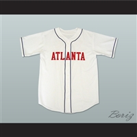 Kenny Powers Eastbound and Down Atlanta Baseball Jersey New