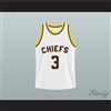 Brad Pitt Kickapoo Chiefs 3 High School Basketball Jersey