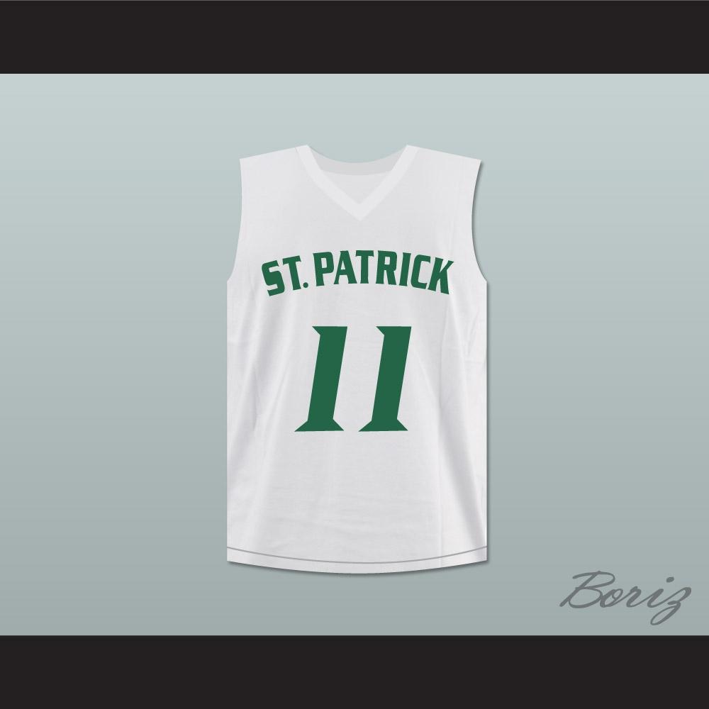 super popular 7e0e6 2a460 Kyrie Irving 11 St. Patrick High School Basketball Jersey Stitch Sewn