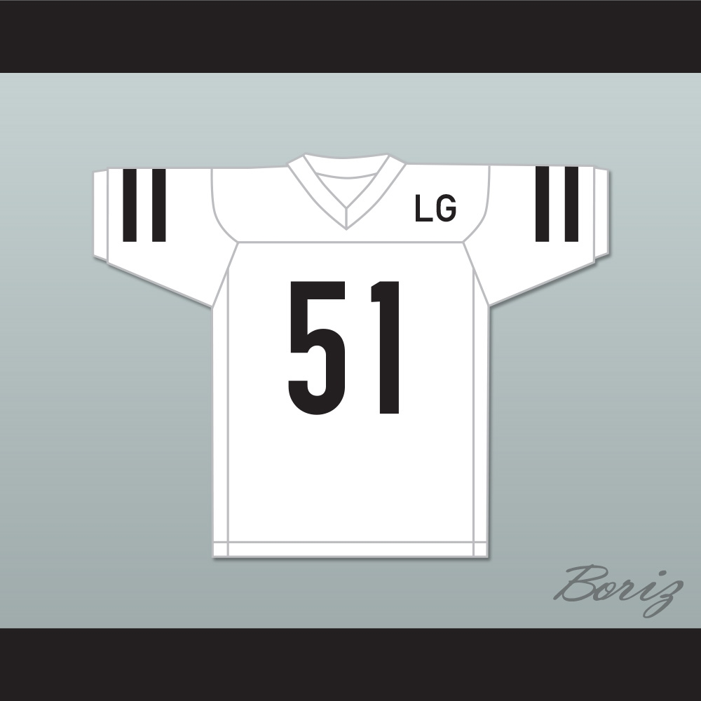 51d91f93d99 LG Joanne 51 White Football Jersey Gaga  Five Foot Two
