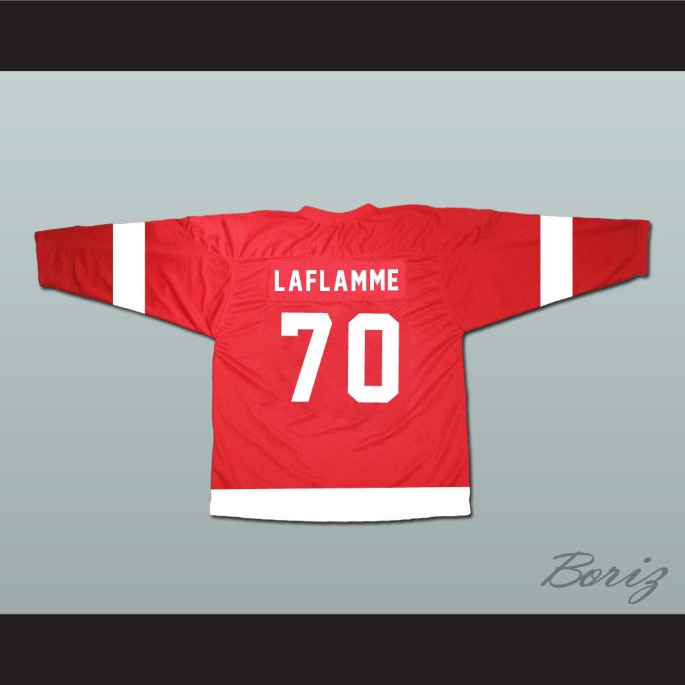 Goon Xavier LaFlamme 70 Canada Hockey Jersey NEW 9f88a9e404e