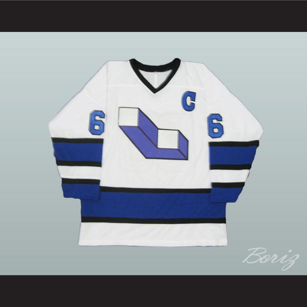 new styles 58e9a a7c90 Mario Lemieux 66 Laval Voisins Hockey Jersey Stitch Sewn