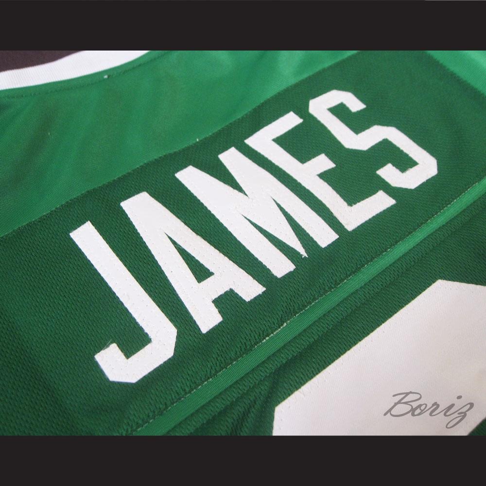 32b024a0f304 Lebron James 9 Fighting Irish High School Football Jersey