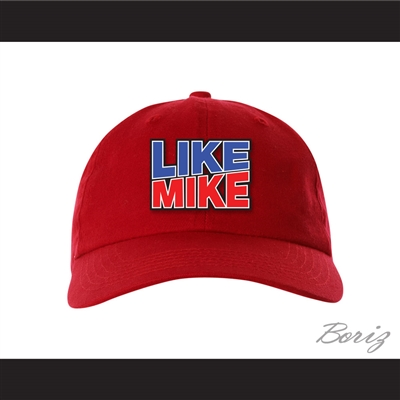 Like Mike Red Baseball Hat