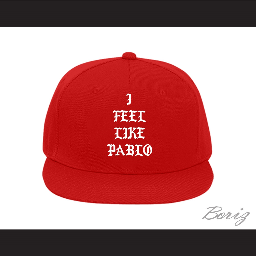 info for 8cbf7 3f785 Pablo Escobar I Feel Like Pablo Red Baseball Hat