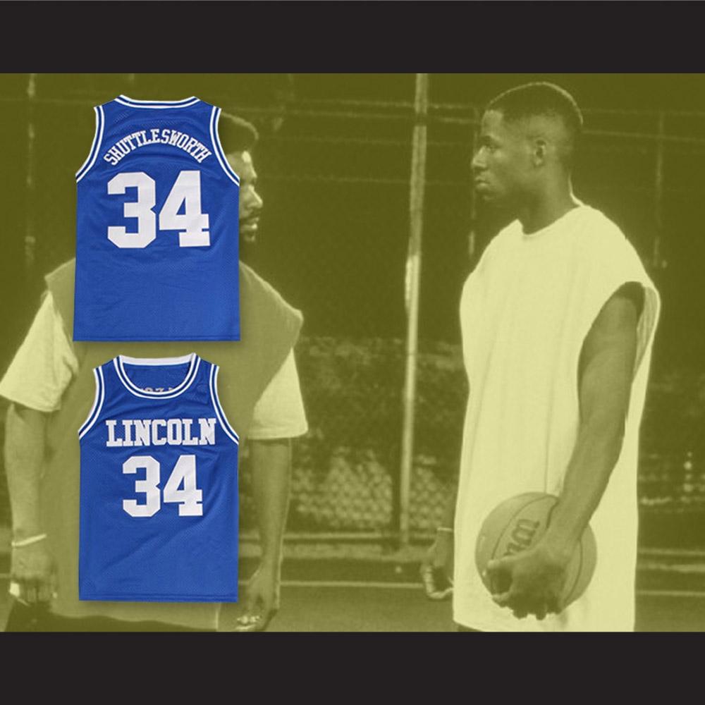 sale retailer 257b0 d45d8 Jesus Shuttlesworth 34 Lincoln High School Basketball Jersey He Got Game