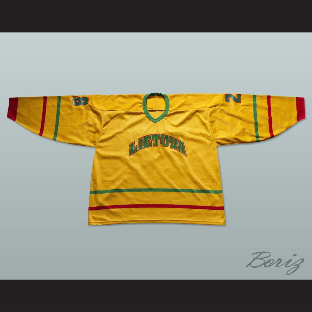 c937f5394 Lithuania National Team Hockey Jersey Any Player or Number