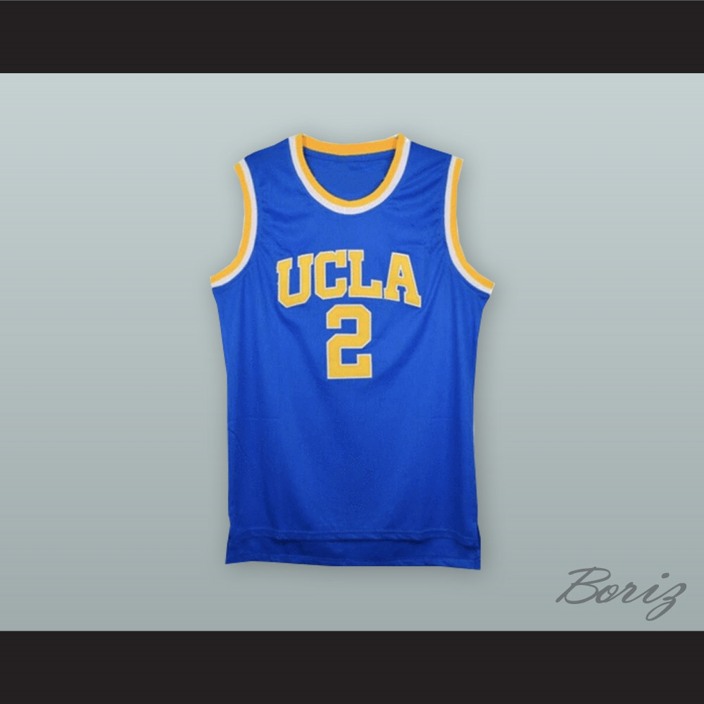 441e60b0d90 Lonzo Ball 2 UCLA Blue Basketball Jersey
