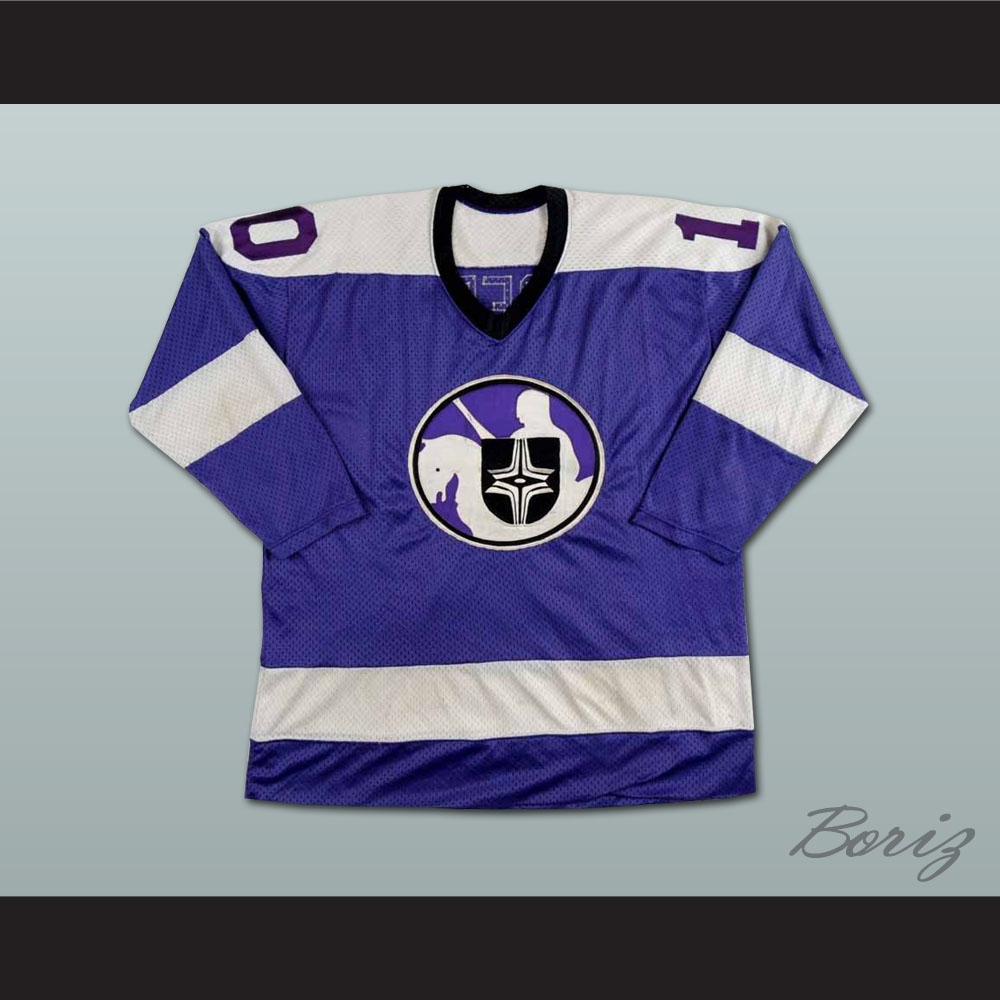 competitive price ee28f ba859 Lyle Moffat WHA Cleveland Crusaders Hockey Jersey