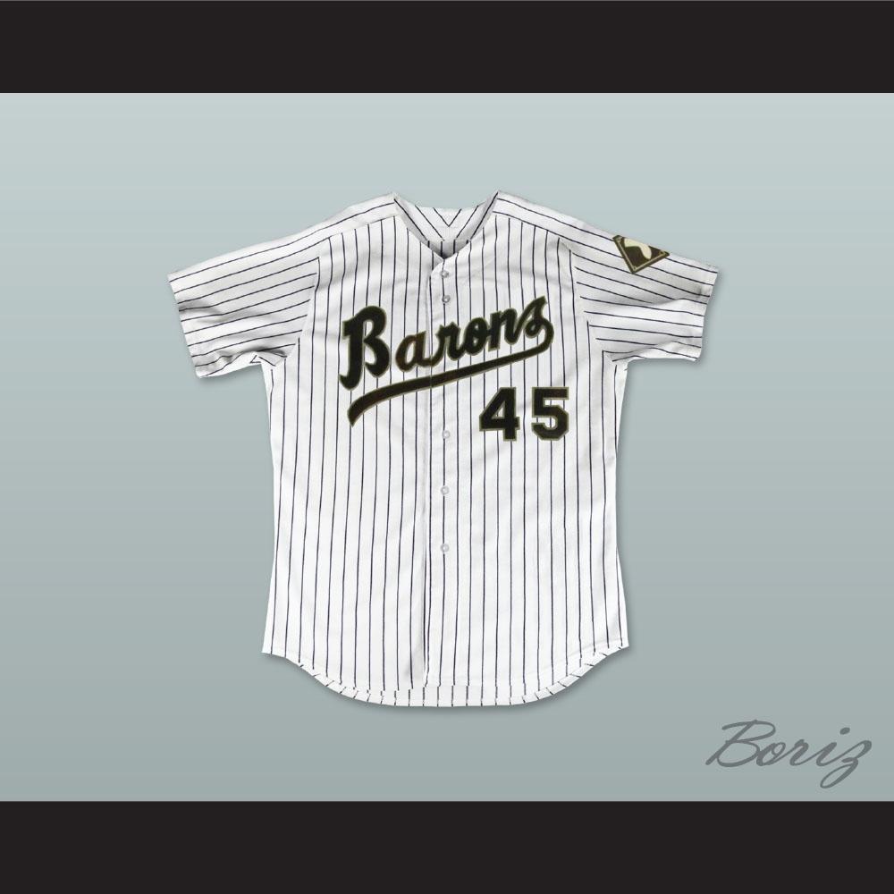 the best attitude c763e 8751e Michael Jordan 45 Birmingham Barons Pinstriped Baseball Jersey