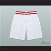 Family Matters Vanderbilt Muskrats High School White Basketball Shorts