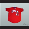 Mark McGwire USA Team Baseball Jersey
