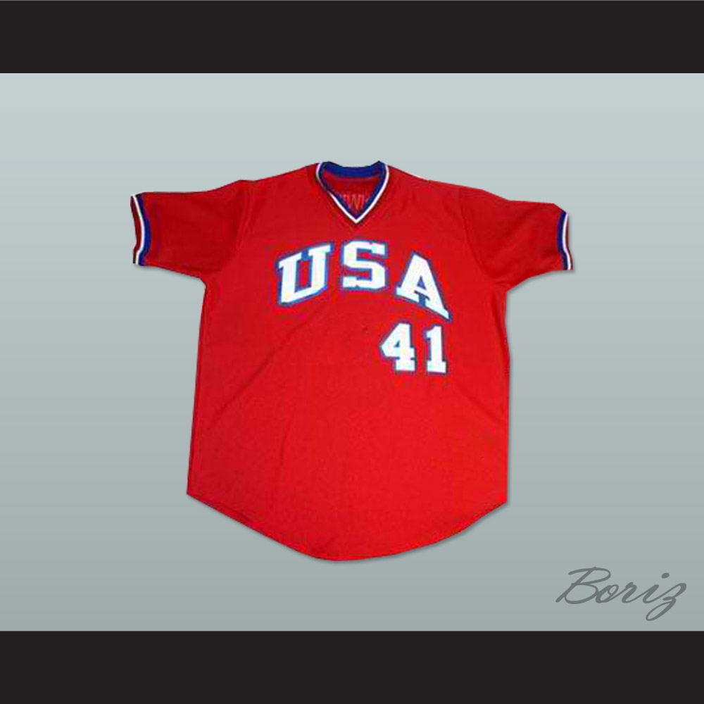 competitive price b9532 97565 Mark McGwire USA Team Baseball Jersey New Any Size or Player