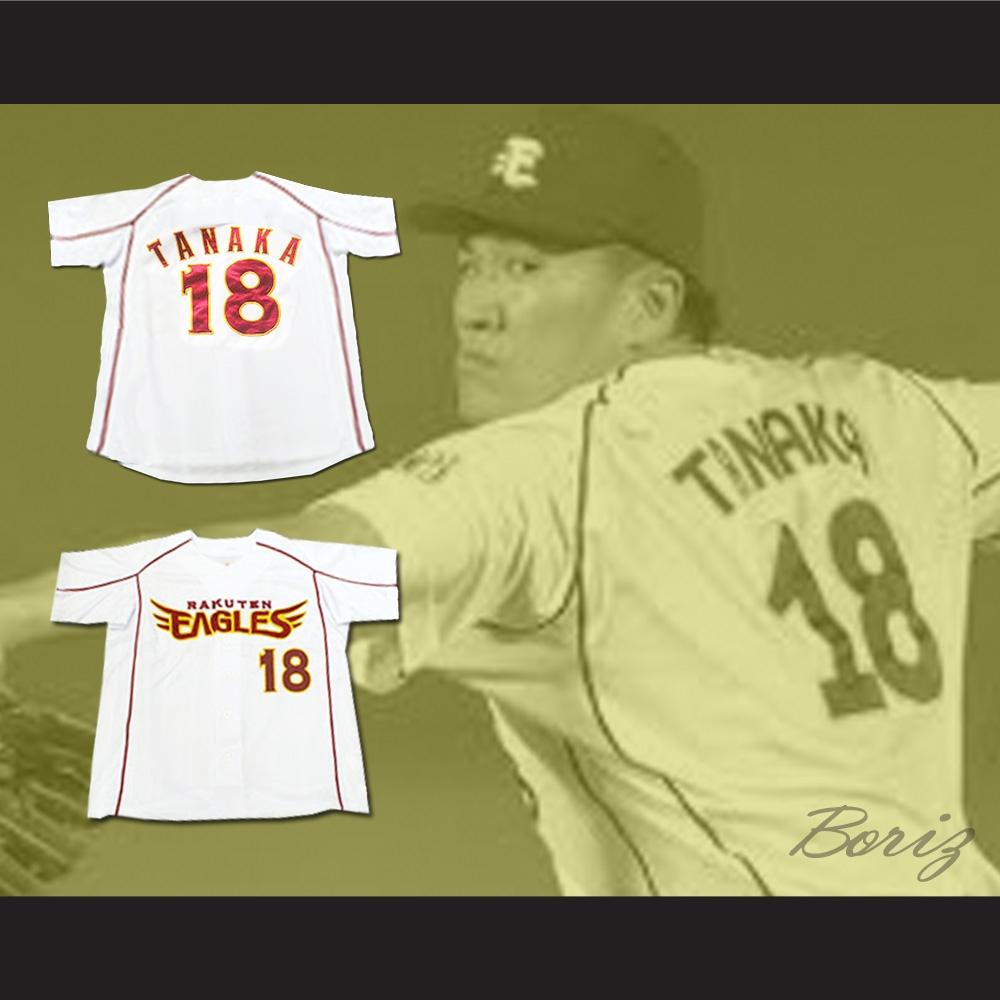 new concept 04500 a00e6 Masahiro Tanaka Tohoku Rakuten Golden Eagles Baseball Jersey NY Pitcher