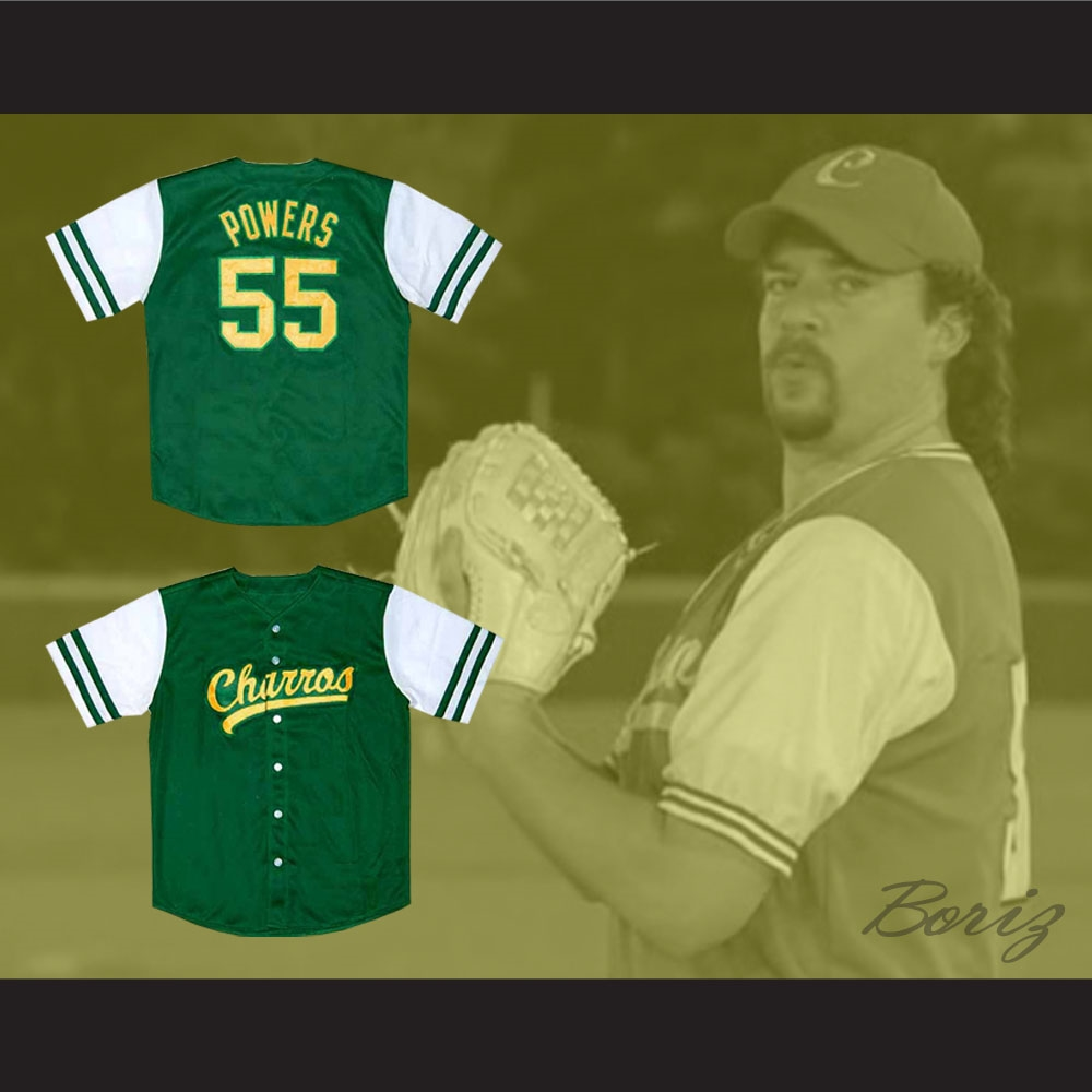 Kenny Powers Eastbound and Down Mexican Charros Baseball Jersey 16356d43eedc