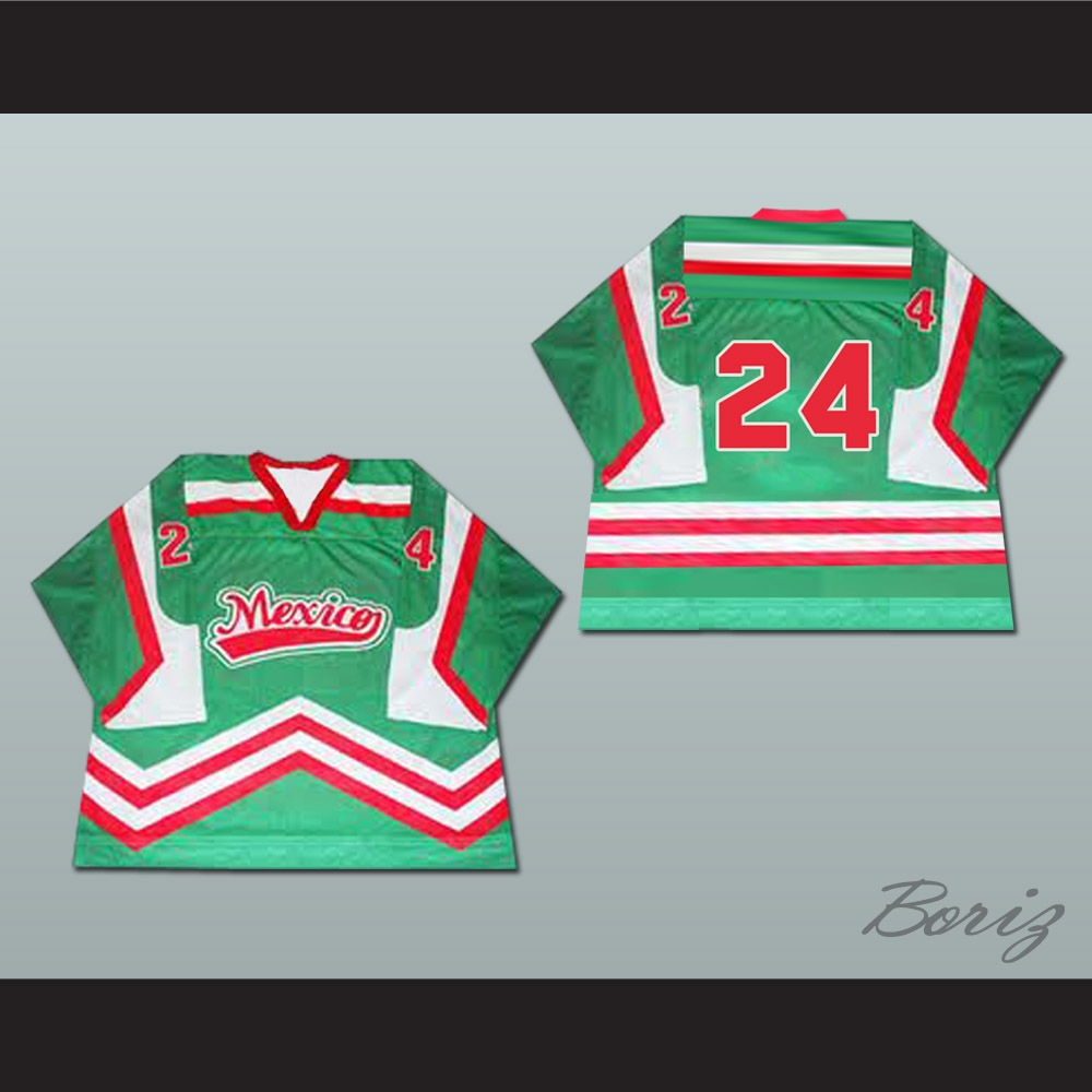 b3899cc58 Mexico National Team Hockey Jersey Any Player or Number