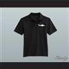 Coaching Staff Miami Sharks Black Polo Shirt Any Given Sunday