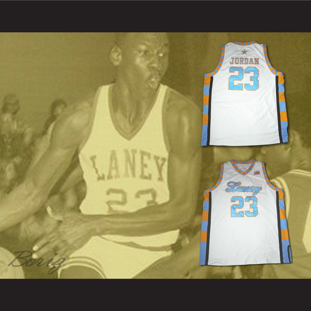 Michael Jordan Laney High School Basketball Jersey 1e81202d24c4