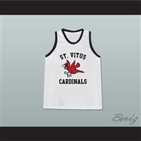 Mark Wahlberg Mickey St Vitus Cardinals White Basketball Jersey The Basketball Diaries