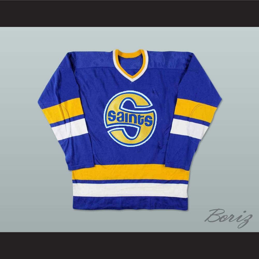 WHA Minnesota Fighting Saints Mike Antonovich Hockey Jersey 887d035d286