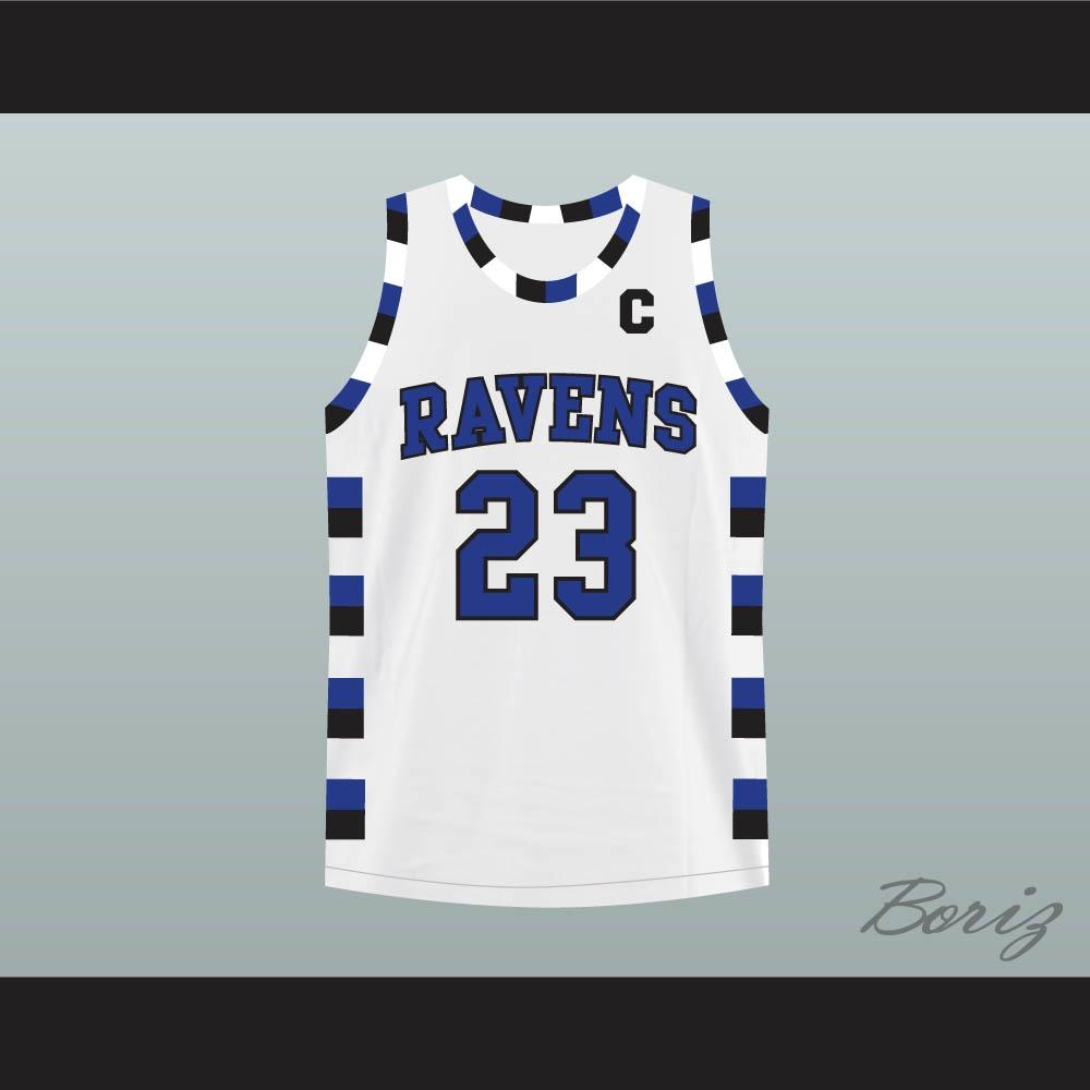 Nathan Scott 23 One Tree Hill Ravens White Basketball Jersey 7c2113309