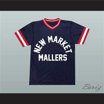 Al Bundy 14 New Market Mallers Baseball Jersey Stitch Sewn New