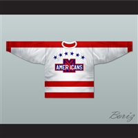 New York Americans 1935-38 Hockey Jersey New