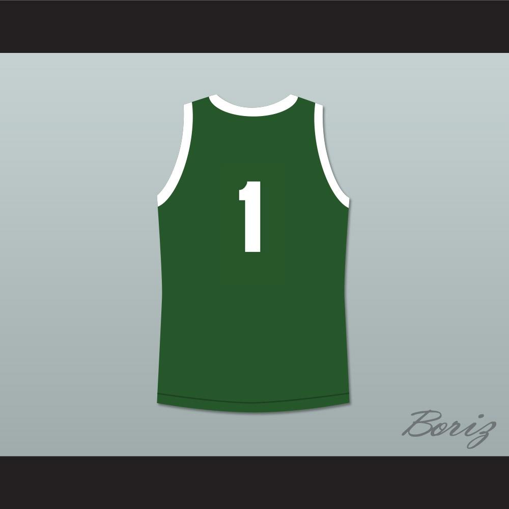 adf8755c07e1 Master P 1 No Limit Basketball Jersey Green
