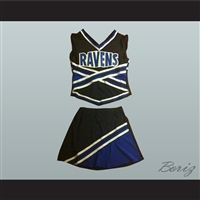 One Tree Hill Ravens Cheerleader Uniform