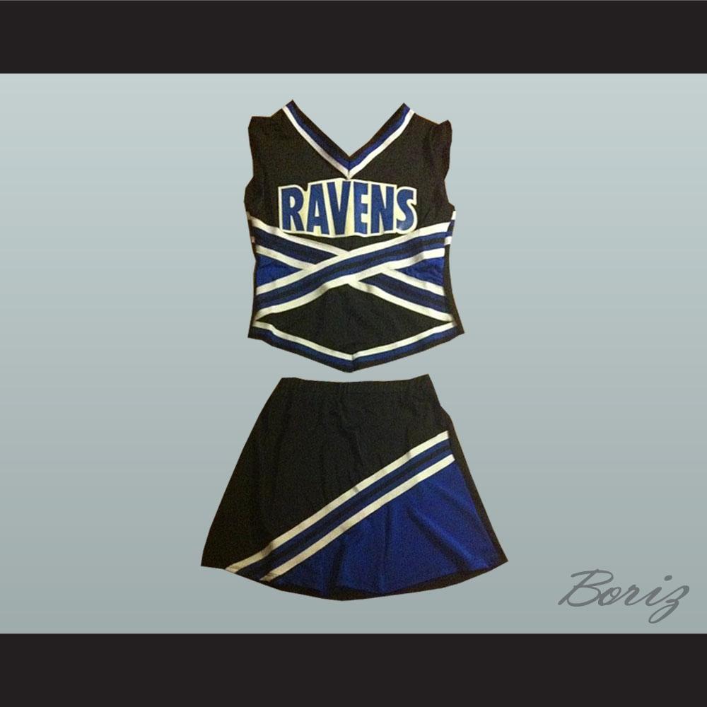 One Tree Hill Ravens Cheerleader Uniform