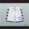 One Tree Hill Ravens White Basketball Shorts