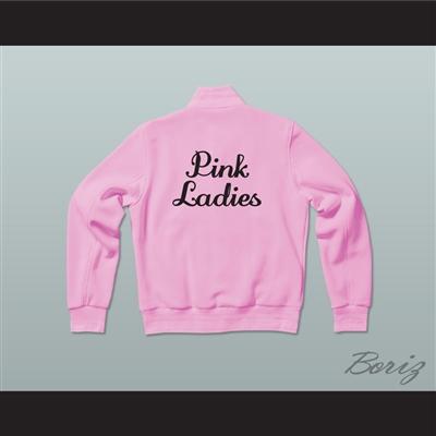 Grease Betty Rizzo Pink Ladies Letterman Jacket-Style Sweatshirt