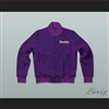 Purple Rain Prince Letterman Jacket-Style Sweatshirt