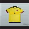 Pablo Escobar 2 Colombia Football Soccer Shirt Jersey
