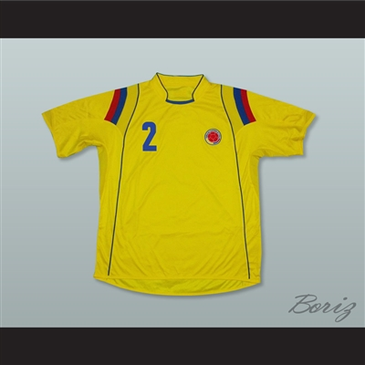 Pablo Escobar 2 Colombia Home Football Soccer Shirt Jersey