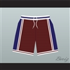 Panthers High School Basketball Shorts Above The Rim Blue Side Stripe