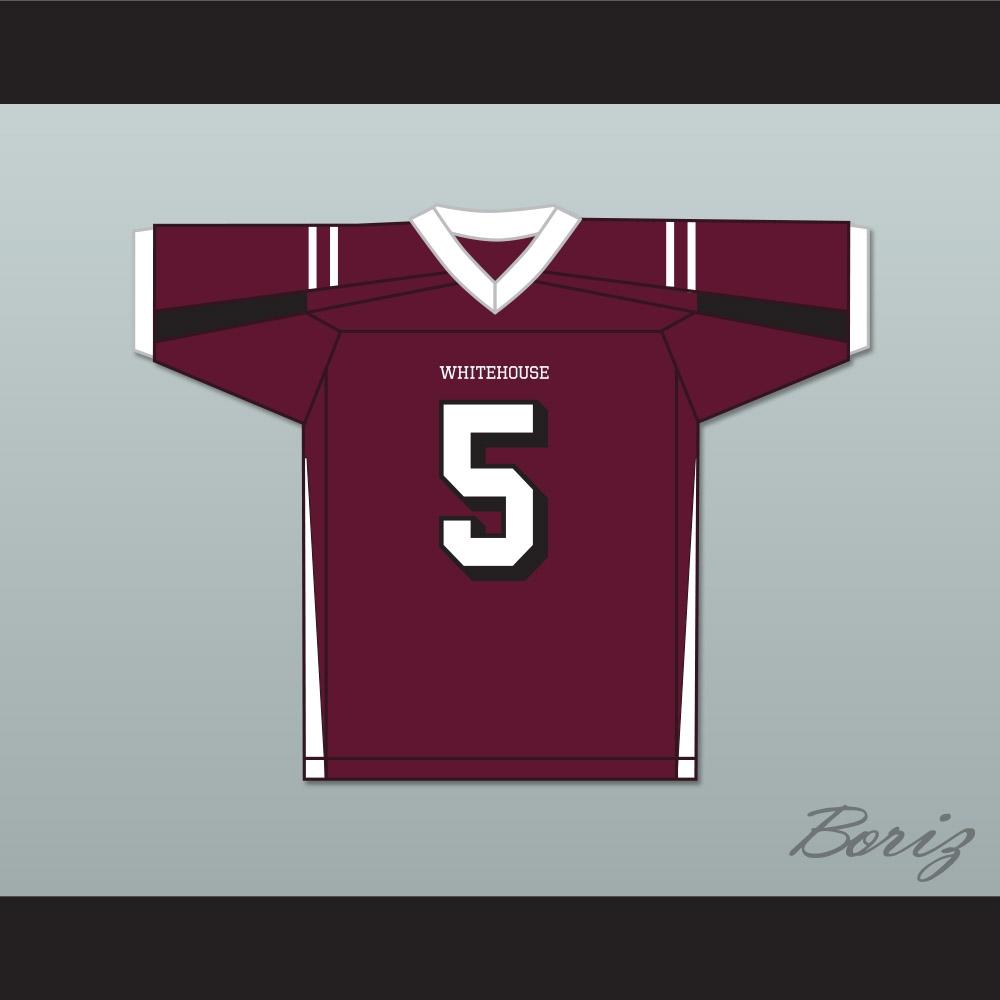 huge discount 327b9 465c2 Patrick Mahomes 5 Whitehouse High School Wildcats Maroon Football Jersey