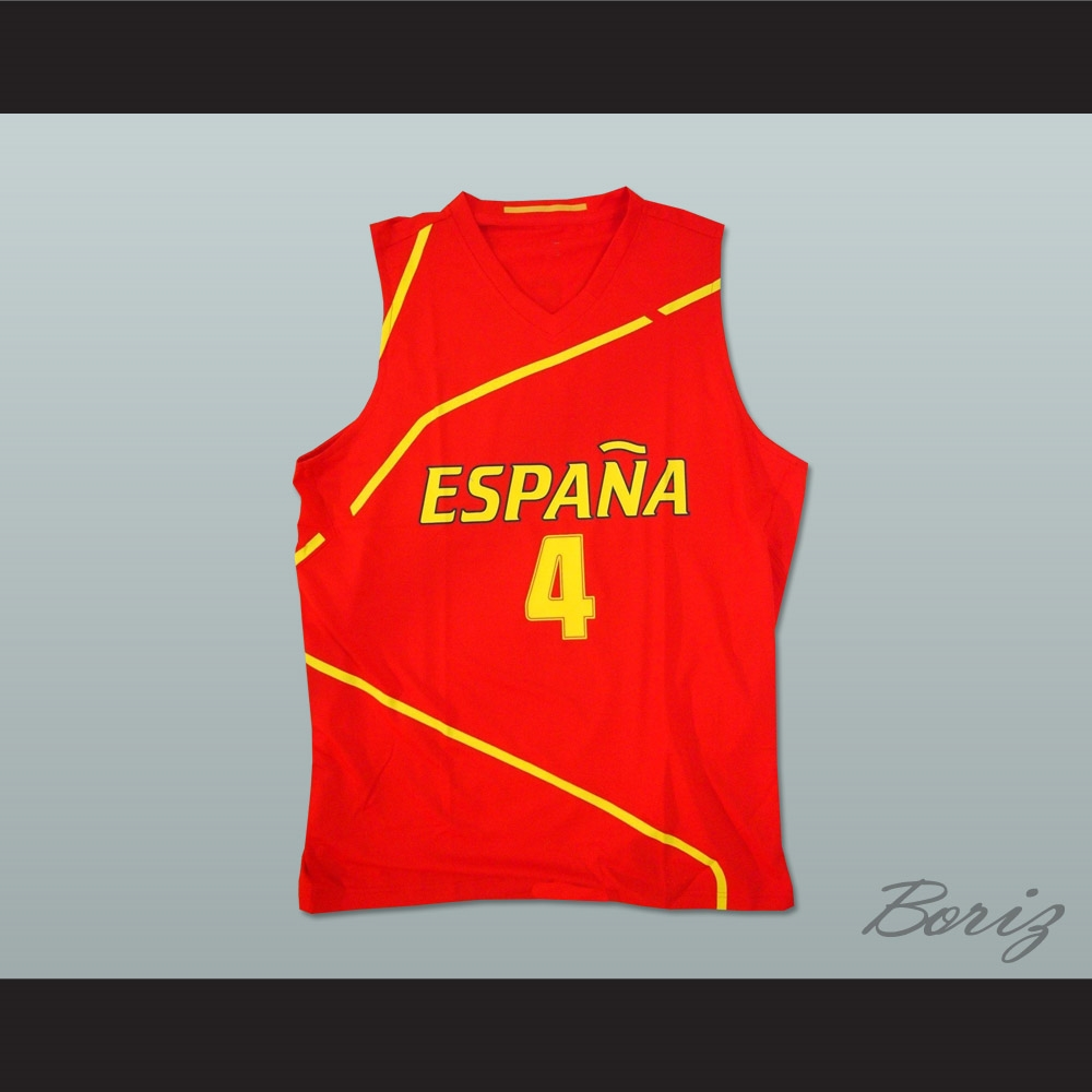 online retailer c2ead 53b01 Pau Gasol Espana Basketball Jersey Any Player or Number
