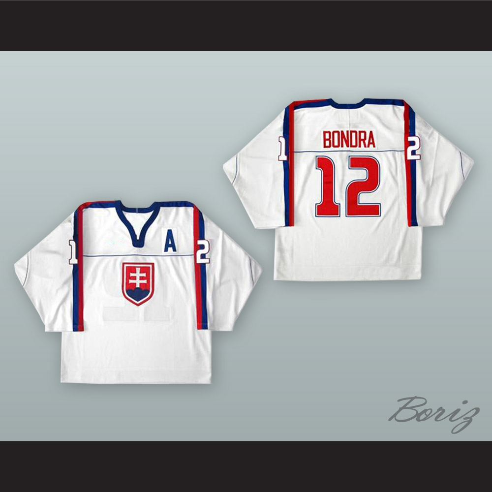 Team Slovakia Hockey Jersey Bondra