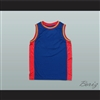 Plain Basketball Jersey Blue-Red-Yellow