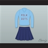 Kelly Bundy Polk Dots Polk High School Cheerleader Uniform Married With Children