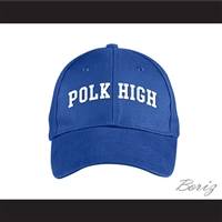 Polk High School Blue Baseball Hat Married With Children