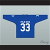 Al Bundy 33 Polk High School Blue Hockey Jersey Married With Children