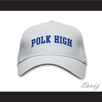 Polk High School White Baseball Hat Married With Children