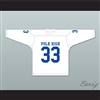 Al Bundy 33 Polk High School White Hockey Jersey Married With Children